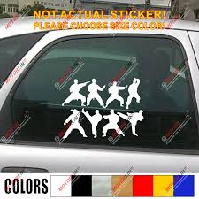 Karate Decal Sticker Fighting Japanese Japan Martial Car Vinyl Set Pick Color Car Stickers Aliexpress