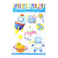 Kids Room Decor 3d Stickers Space Travel Happymoments
