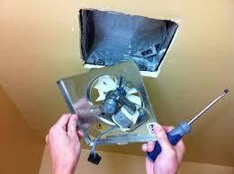 how to repair nutone bathroom fan motor
