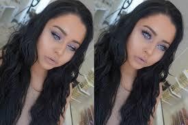 lilac glowing spring makeup tutorial