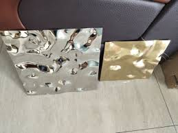 water ripple stainless steel sheet
