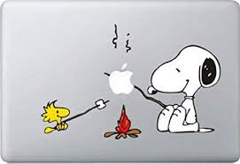 Snoopy Bbq Decal Color Sticker For Macbook Pro Laptop Computer Decorative Vinyl Stickers Mac Air