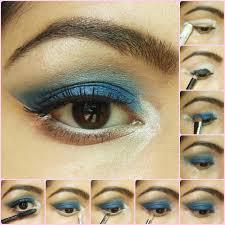 eye makeup tutorial royal blue eyes