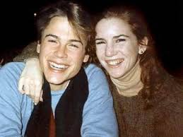 Rob Lowe and Melissa Gilbert (Laura on Little House On The Praire ...