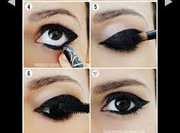 easy black eye makeup for going out