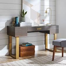 lana modern 3 drawer writing desk