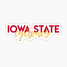 Iowa State Cyclones Stickers Redbubble