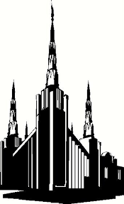 Oregon Portland Temple Wall Sticker Vinyl Decal The Wall Works
