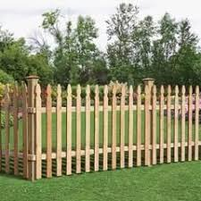Severe Weather Actual 6 Ft X 8 Ft Natural Pressure Treated Pine Dog Ear Wood Fence Panel At Lowes In 2020 Wooden Fence Panels Wood Picket Fence Picket Fence Panels