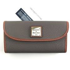 dooney bourke elephant leather wallet
