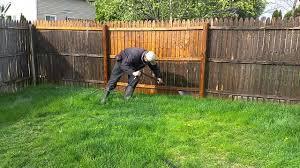 Power Washing Fence Youtube