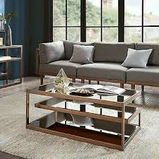 INK+IVY Kelly Coffee Table in Light Brown Finish II120-0358 for sale online  | eBay