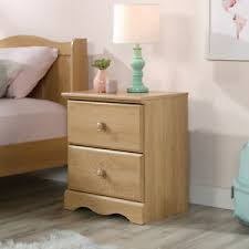 2 Drawer Small Nightstand Bed Side Table Lamp Stand Wood Kids Bedroom Furniture Ebay