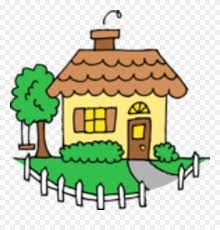 White Picket Fence House Drawing Clipart 5324792 Pinclipart
