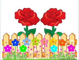 Rose Fence Flower Fence Pop Up Frame Flower Template