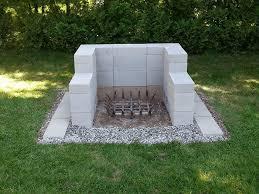 cinder block fire pit ideas