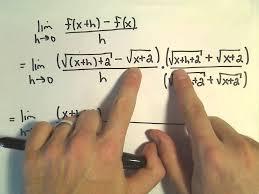 find slope of tangent line