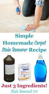 homemade carpet sn remover recipe
