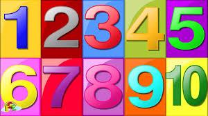 Dạy bé học đếm số bằng tiếng Việt từ 1 đến 10 bé vui học toán mầm non 3-4  tuổi
