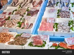 Fish Seafood Sale Image & Photo (Free ...