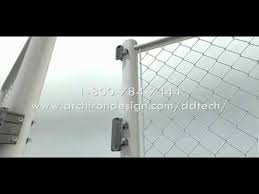 Magna Latch For Chain Link Gate Latch Mp4 Youtube