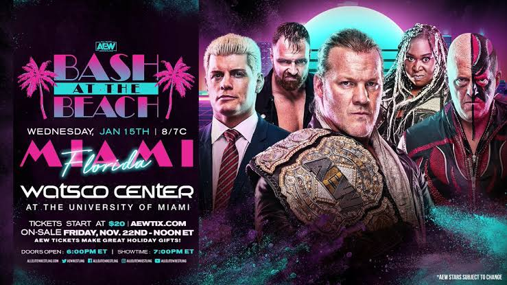 Rumor: WWE Suing AEW For Bringing Back Bash At The Beach 1
