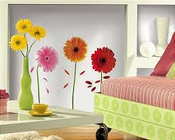 Gerber Daisies Wall Stickers 8 Big Flower Decals Daisy Room Decor For Sale Online