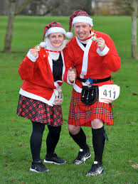 In Pictures: Perth's Santa Run - Daily Record