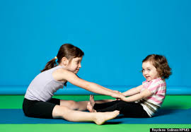 yoga poses for two kids images free