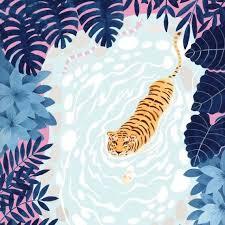 Pin by Hillary Ellis on art inspo in 2020 | Art prints, Jungle art, Art