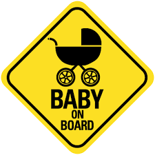 Baby On Board Car Decal Tenstickers