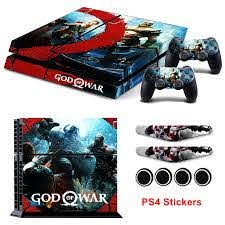Newest God Of War Limited Edition Vinyl Decals For Ps4 Console And Ps4 Controllers Protective Sticker Cover Caps Light Bar Skin Stickers Aliexpress