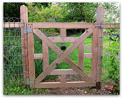 Warn And Welcome Old Bell For A New Gate Tall Clover Farm Garden Gate Design Garden Gates And Fencing Garden Gates