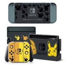 Poke Cover Skin Sticker For Nintendo Switch Ns Console Joy Con Controller Game Sticker Vinyl Decal Protector Nintendoswitch Consoleskins Co