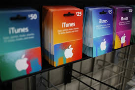 victims to pay with itunes gift cards