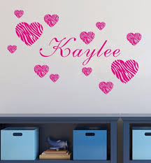 Cute Custom Made Personalized Name Zebra Heart Love Warm Story Vinyl Wall Sticker Room Art Decor You Choose Name And Color Sticker Board Stickers Arts And Craftsart Handicraft Aliexpress
