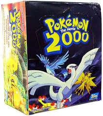 Pokemon Topps Pokemon The Movie 2000 Trading Card Box 36 Packs ...