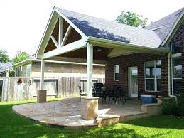 deck patio backyard roofed outdoor roof