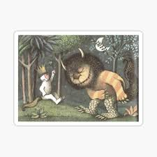 Where The Wild Things Are Stickers Redbubble