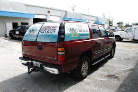 Rear Window Vehicle Graphics Perforated Window Vinyl Wraps