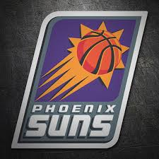 Sticker Nba Phoenix Suns Old Shield Muraldecal Com