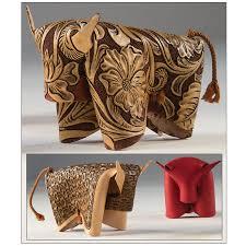 folding bull kit tandy leather