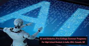 ai and robotics summer programs for