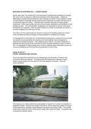Garden Fence Case Study The Hunters Hill Trust