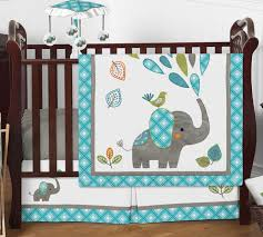 4pc nursery crib bedding set