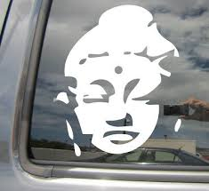 Buddha Head Buddhist Buddhism Monk Car Auto Window Vinyl Decal Sticker 08030 Ebay