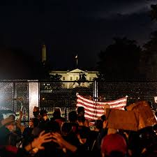 Security Concerns Give The White House A Fortified New Look The New York Times