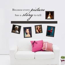 Every Picture Have A Story Po Frame Loving Decal Vinyl Wall Stickers Pvc Decoration Diy Home Decor Living Room Wish