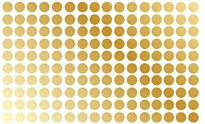 Amazon Com Innovative Stencils Polka Dot Wall Decal Nursery Kids Room Peel And Stick Removable Sticker Circle Pattern Decor 1326 1 5 150 Dots Gold Home Improvement