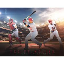Yadier Molina St Louis Cardinals Fathead Giant Removable Wall Mural Walmart Com Walmart Com